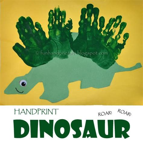 how to make a craft dinosaur for handprint dinosaur craft for handprint