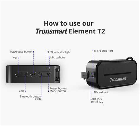 Tronsmart Element Portable Waterproof Bluetooth Speaker T2 tronsmart element t2 bluetooth 4 2 speaker