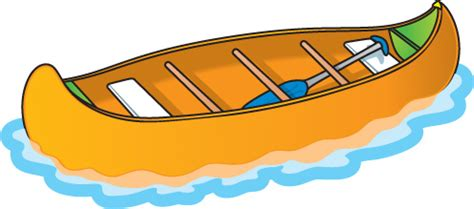 canoe boat clipart water transportation clipart clipground