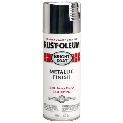 home depot spray paint metal rust oleum stops rust 11 oz protective enamel bright coat