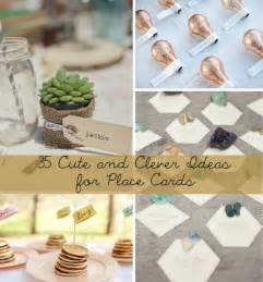 wedding place card ideas wedding place cards ideas lilbibby