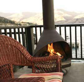 patio wood stove
