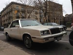 Dodge Lebaron Cscb Home 1982 Chrysler Lebaron Two Door Convertible