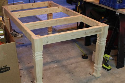 building a farmhouse table diy farmhouse table free plans rogue engineer