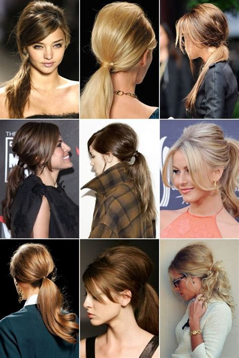 ponytail hairstyles for older women 25 best ideas about bumped ponytail on pinterest bump