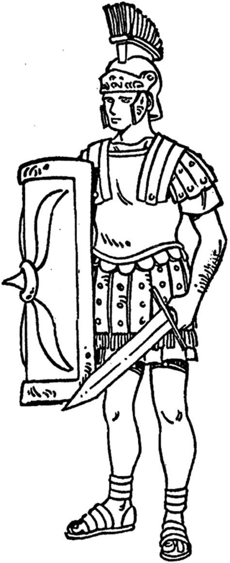 Roman Coloring Pages To Print Coloring Home Rome Coloring Pages