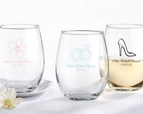 Personalized Bar Glasses 6 Personalized Wedding Gifts For Bridesmaids Booze Theme