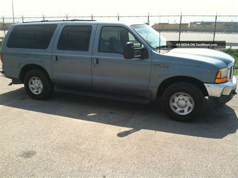 2000 Ford Excursion Xlt by 2000 Ford Excursion Xlt Sport Utility 4 Door 5 4l