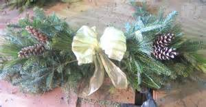 How To Make A Pine Tree Out Of Paper - how to make a swag out of pine tree branches