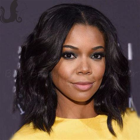 Blackwomen Short Bob Body Wave Hair Styles | brazilian short body wave full lace wig human hair