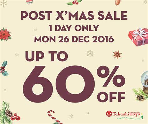 takashimaya post new year sale takashimaya up to 60 one day post sale on
