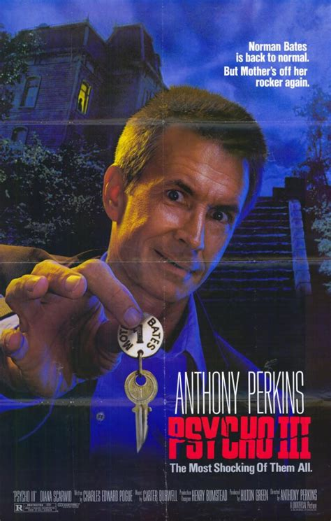 Watch Psycho Iii 1986 Full Movie Psycho 3 Movie Posters From Movie Poster Shop