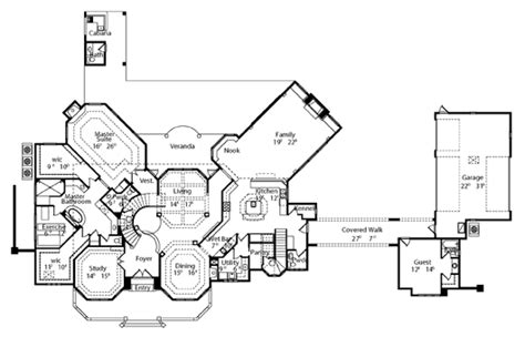 manor house plans willow manor 6509 6 bedrooms and 5 baths the house designers