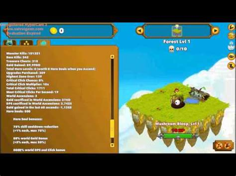 clicker heroes gold hack v0.17 (with cheat engine) on m