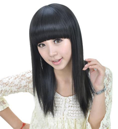coupe japonaise coiffure japonaise frange