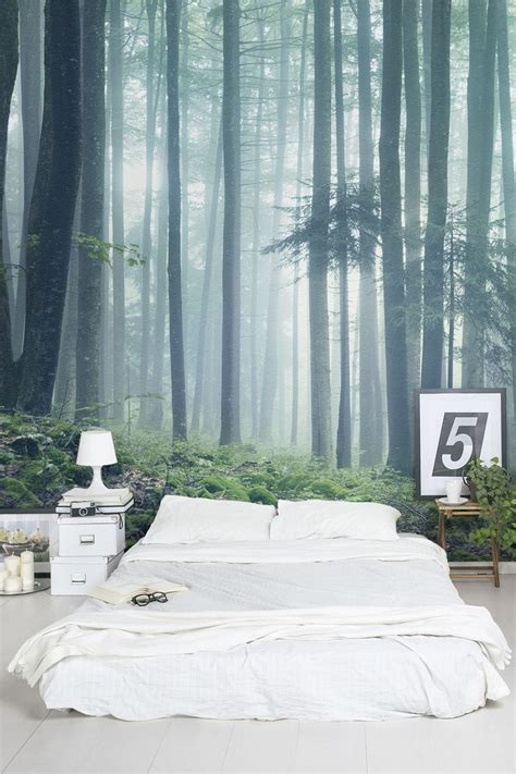 Wall Murals For Bedrooms 25 best ideas about forest wallpaper on pinterest