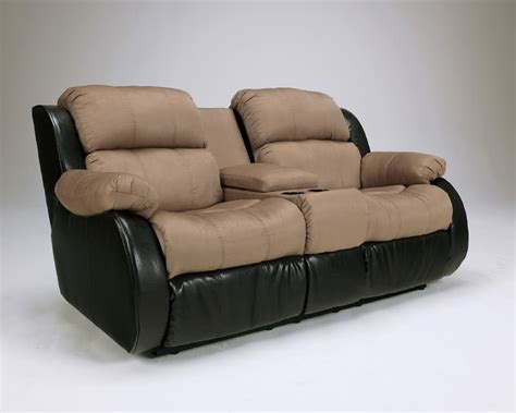 signature design by ls cocao reclining loveseat signature design by
