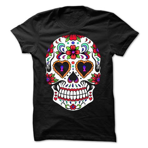 Sugar Tshirt by I Sugar Skull T Shirt