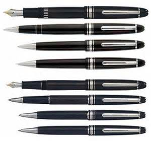 Modern Trim Montblanc Meisterstuck Classique Fountain Pen With