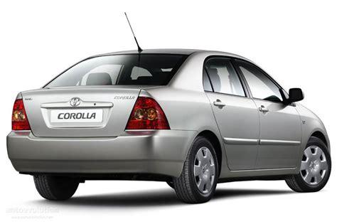 toyota corolla sedan specs 2004 2005 2006 2007