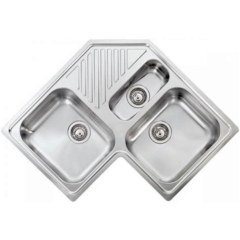 lavello acciaio antigraffio lavello acciaio inox antigraffio ilaria 3 3 vasche angolo