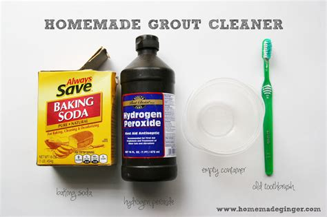 Grout Cleaner Diy Recipe Grout Cleaner