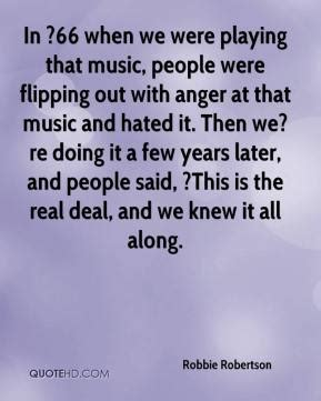 we were swinging song robbie robertson quotes quotesgram