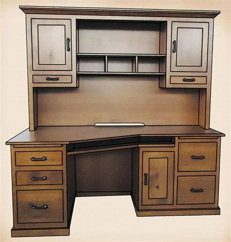 mission style computer desk with hutch mission style computer desk with hutch office furniture