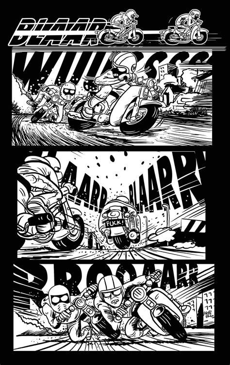 gambar kartun bebek racing gambar kartun