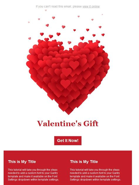 valentines newsletter template 10 9 free s day email templates