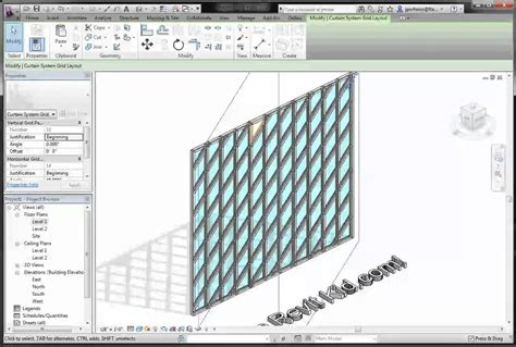 how to create a curtain wall in revit revit tutorial the revit kid rotate curtain wall grids