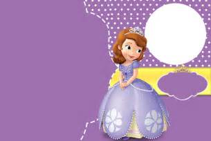 hpw to create sofia the first birthday invitations