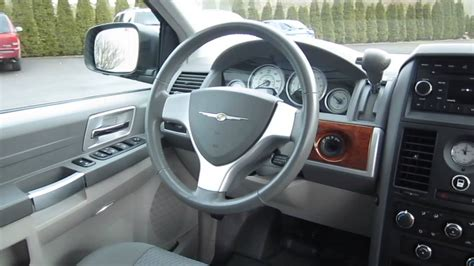 Chrysler Town And Country Interior by 2008 Chrysler Town And Country Interior Www Pixshark