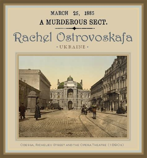 the unknown history of misandry rachel ostrovoskafa ukraininian leader of a female serial