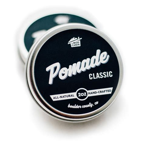 Pomade Classic classic pomade the mod cabin grooming co