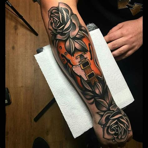 les paul guitar tattoo designs 25 best ideas about guitar on small