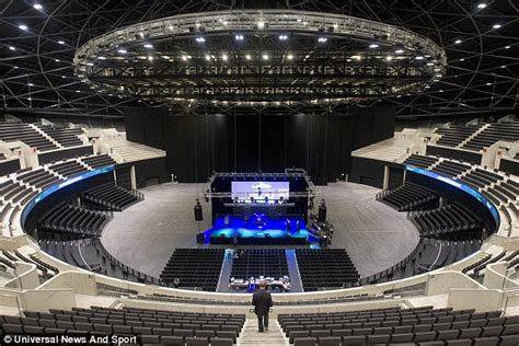 glasgow hydro seating capacity images