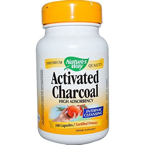 Activated Charcoal Tablets Detox by Favorites