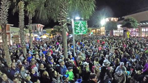 new year s eve beach ball drop 2016 panama city beach
