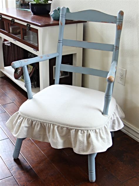 rocking chair cushion set with skirt a few simple chair makeovers beckwith s treasures