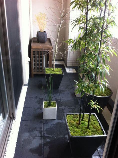 Garden On Apartment Patio Zoom Sur Une Touche Japonaise 224 Votre Int 233 Rieur Shoji