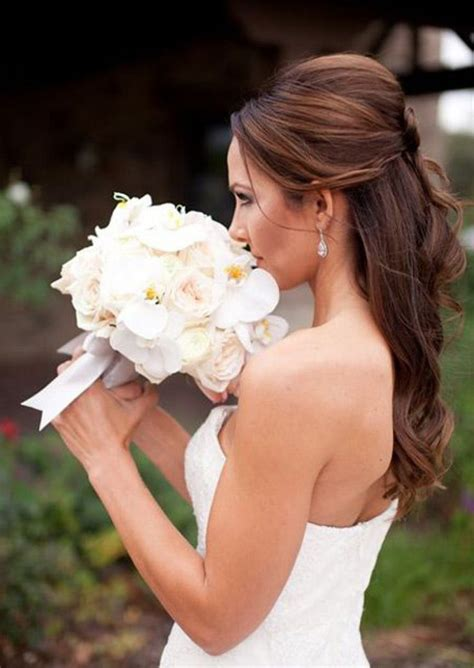 voluminous half up half down hairstyles 10 gorgeous half up half down wedding hairstyles