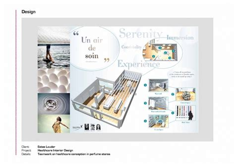 Interior Design Professional Portfolio by Estee Lauder Healthcare Interior Design Sentis