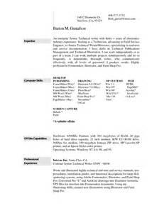 resume exle 29 free resume templates for mac resume