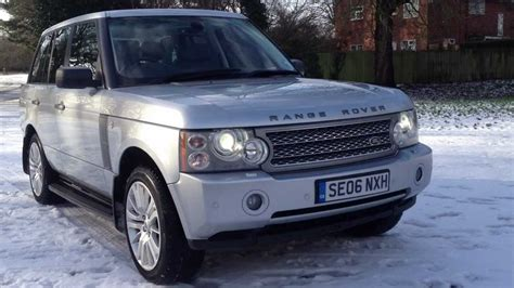 2006 Range Rover Td6 Vogue Automatic For Sale Wirral