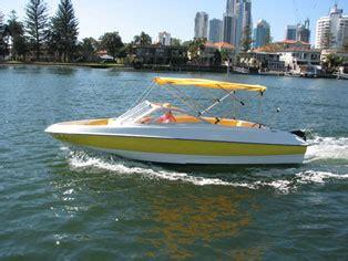 party boat hire central coast luxury bow rider boat hire gold coast 6 person capacity
