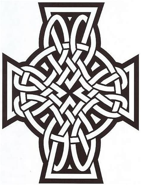 modern cross tattoo designs celtic modern design