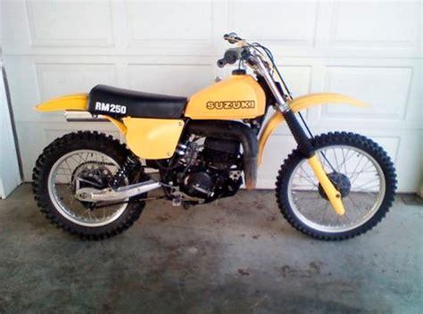 1978 Suzuki Rm 250 1978 1 2 Suzuki Rm250 C2 Il Floater Suzuki Rm
