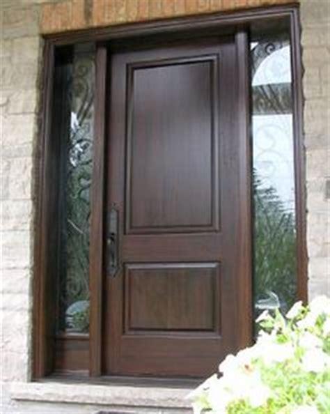 It Is Not Just A Front Door It Is A Gate Dark Brown Exterior Doors Ontario