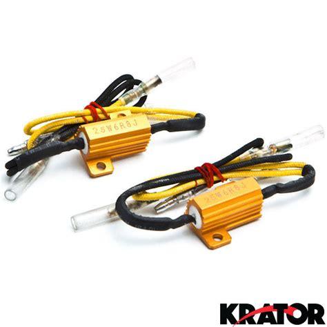 led load resistor motorcycle 2x 8ohm 25w led load resistors turn signal blinkers fog lights fix hyper flash ebay